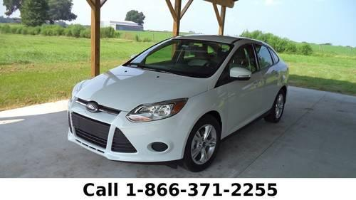 New 2013 Ford Focus SE