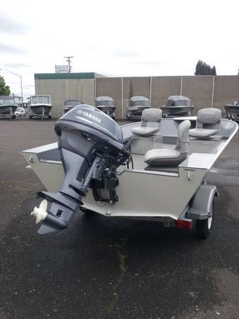New 2013 riverhawk pro v16 with yamaha 25 hp for sale in for Yamaha eugene oregon
