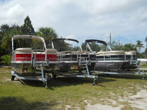 NEW 2013 YAMAHA G-3 20' SUNCATCHER PONTOON WITH 50 H/P