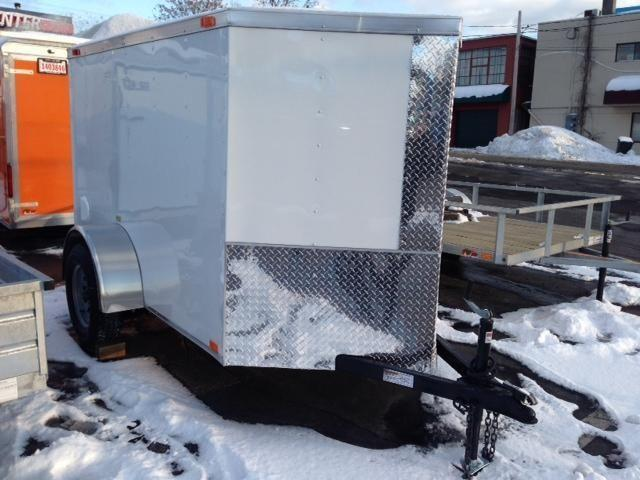 New 2014 5x8 2 V Bendron Titan Enclosed Cargo Trailer