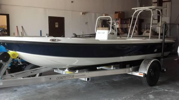 New 2014 action craft 1600te high pro flats boat 90 for Action craft boat parts