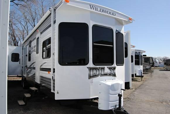 New 2014 Destination Trailer Wildwood Dlx 400rets For Sale