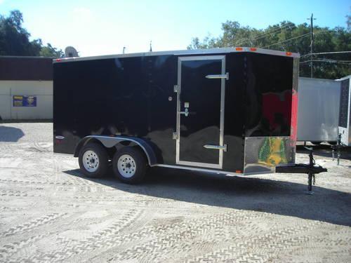 New 2014 Enclosed Trailer 6x14 Ramp V Nose 6 39 3 Interior Led 39 S For Sale In Welaka Florida