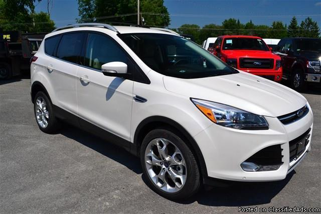 new 2014 ford escape 39 titanium 39 4wd eco boost we finance rhinebeck. Cars Review. Best American Auto & Cars Review