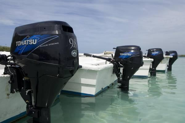 New 2014 tohatsu 9 8 outboard electric start no sales tax for Tohatsu outboard motor financing