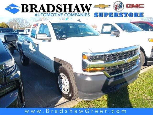 New 2019 Chevrolet Silverado 1500 Double Cab W/T Greer,