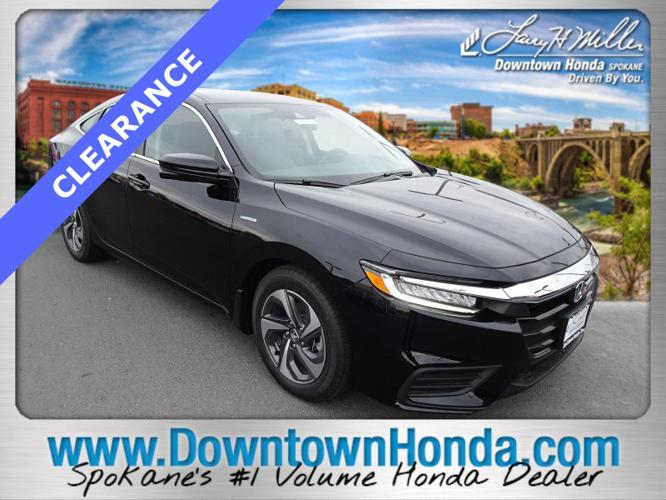 New 2019 Honda Insight EX SPOKANE, WA 99201