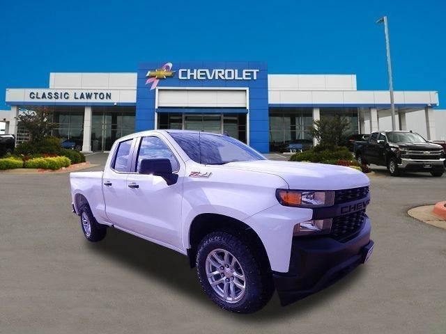 New 2020 Chevrolet Silverado 1500 4x4 Double Cab W/T