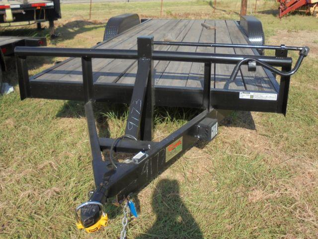 NEW 20x84 Car Hauler Tandem Axle Trailer