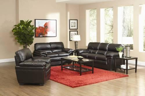New 3pc Leather Living Room Collection For Sale In Atlanta Georgia Classified