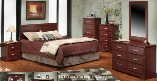 New 4 Piece Bedroom Set- Shiloh- By Harden Furniture - for Sale in ...