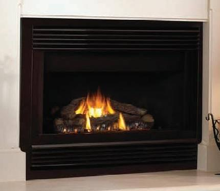 New 40 Gas Fireplace Direct Vent Vermont Castings Dv40 With Surround For Sale In Cedar Falls