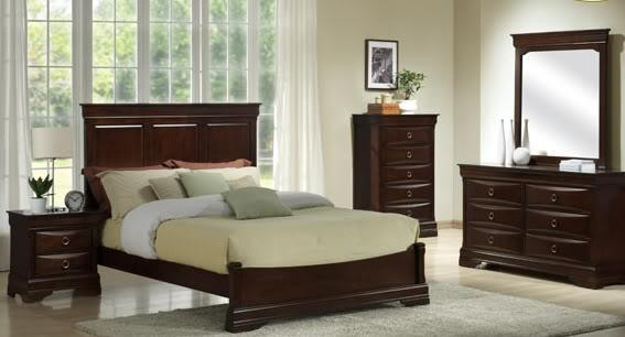 New 5pc Queen Flat Panel Mansion Bedroom Set Rose By Design Foley For Sale In Pensacola