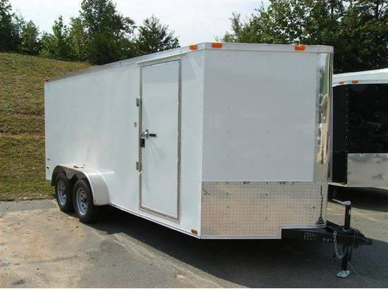 new 7x18 vnose enclosed trailer for sale in buena new jersey classified. Black Bedroom Furniture Sets. Home Design Ideas