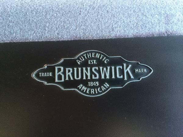 NEW Ft Modern BRUNSWICK Metro Pool Table For Sale In Orange - Brunswick metro pool table for sale