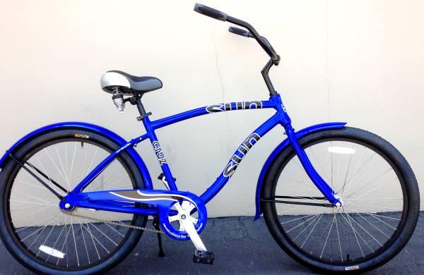 New Aluminum SUN Cruz BEACH CRUISER BIKE BIG BIG SALE  - $249
