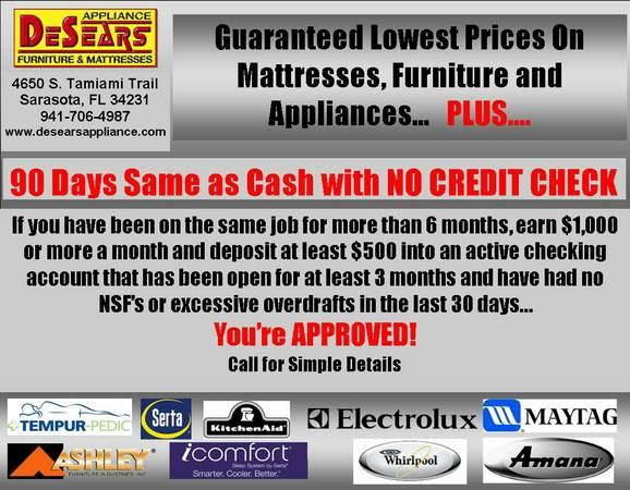 New At Desears No Credit Check 90 Days Same As Cash For