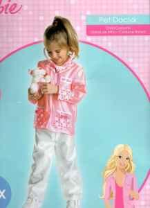 New BARBIE CHEERLEADER and PET DOCTOR Costumes Sm - $1 Council Bluffs