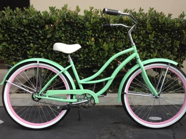 New Beautiful 26inch Womens BEACH CRUISER BIKE SALE TODAY