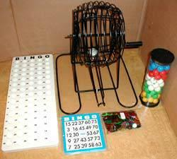 NEW BINGO CARDS, CAGES, AND MANY BINGO SUPPLIES