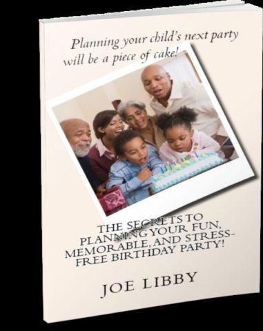New Birthday Party Planning Book!