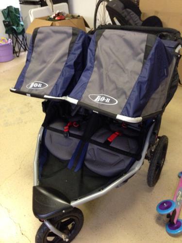 0c9652d8fc0 New BOB revolution SE double jogging stroller for sale in Charlotte