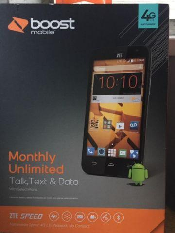 New Boost mobile ZTE 4G⚡️LTE
