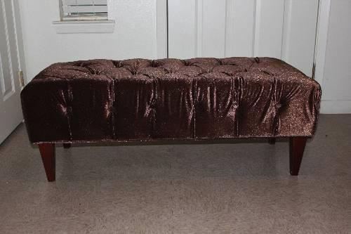 NEW Brown bench