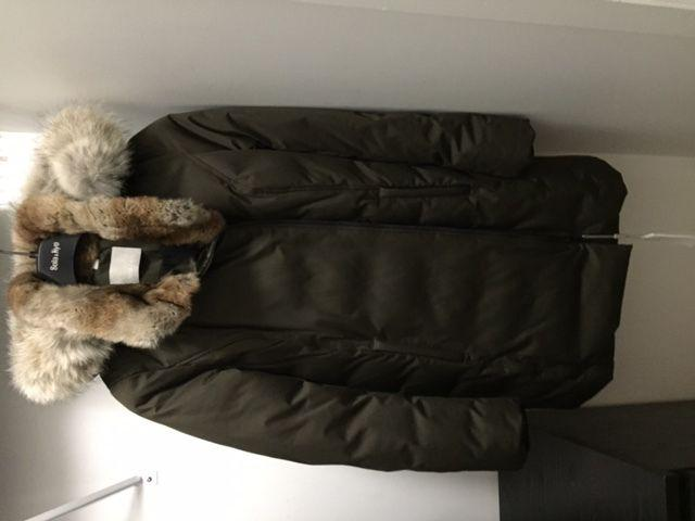 New Canadian woman's winter coat