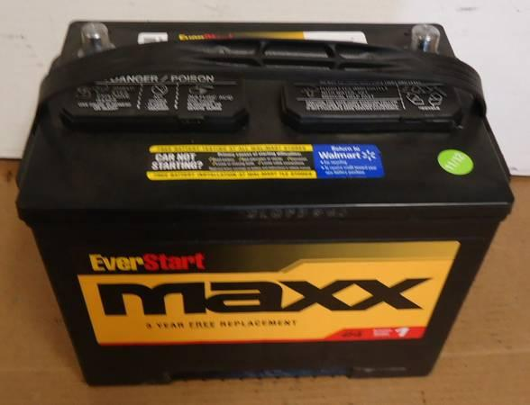 New car truck battery batteries top & side post - for Sale ...
