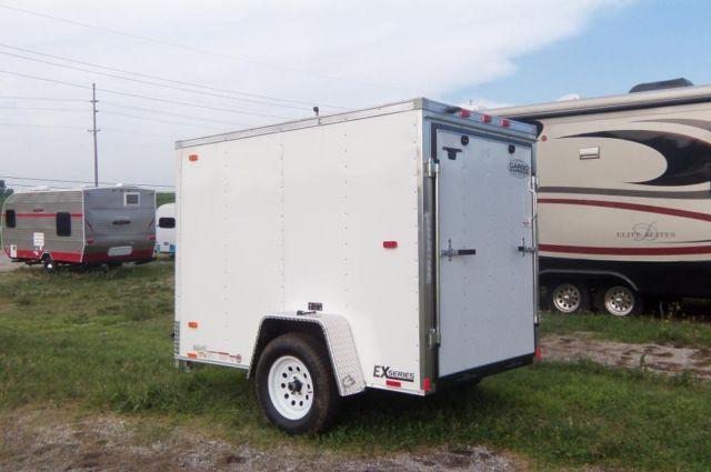 New Cargo Express Trailer 5x8 White For Sale In Brushy