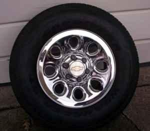 New - Chevy Pickup - 17''Chrome Rims / 265-Tires -
