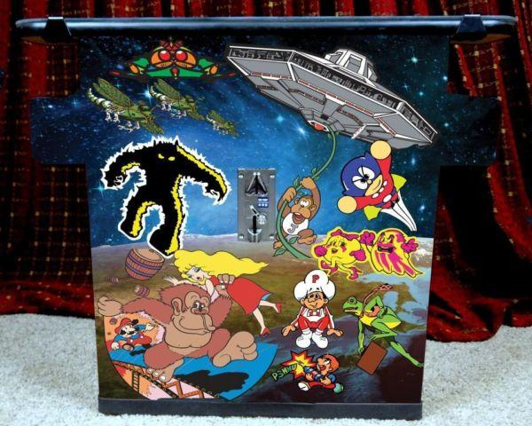 NEW Commercial Grade Arcade Cocktail Table Multicade Galaxy graphics