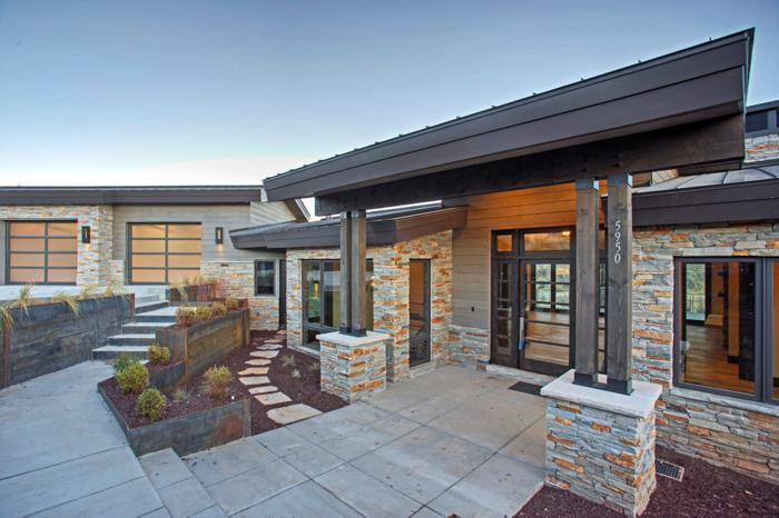 New Construction Mountain Modern meets the Western