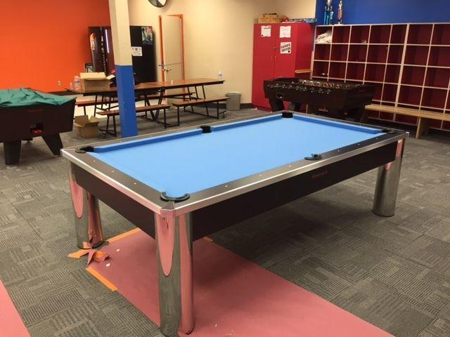 New Contemporary Style Spectrum Pool Table For Sale In Phoenix - Spectrum pool table
