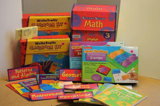 NEW CORE STANDARD TUTORING MATERIALS, LG LOT, GRADE 3!