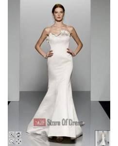 New David S Bridal Galina Swg9905 Wedding Dress Size 6