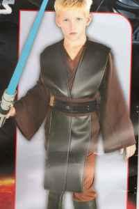 New Deluxe ANAKIN SKYWALKER  OBI-WAN KENOBI Costumes - Small 4-6 - $1 Council Bluffs