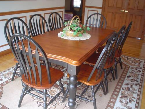 new dining kitchen table seats 8 people 42inx54inx72in for sale in hillsborough new. Black Bedroom Furniture Sets. Home Design Ideas
