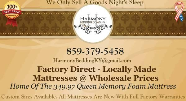 New Direct From Factory Mattress Blowout Sale For Sale