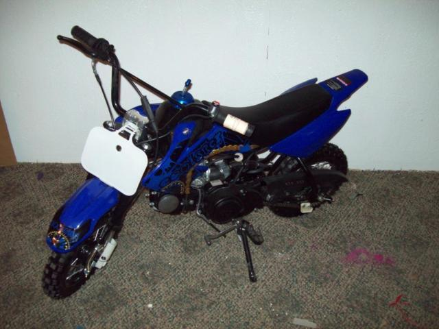 NEW DIRT BIKE - 125CC - FULLY ASSEMBLED READY TO RIDE