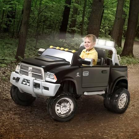 new dodge ram 12 volt battery powered ride on power wheel for sale in am qui tennessee. Black Bedroom Furniture Sets. Home Design Ideas