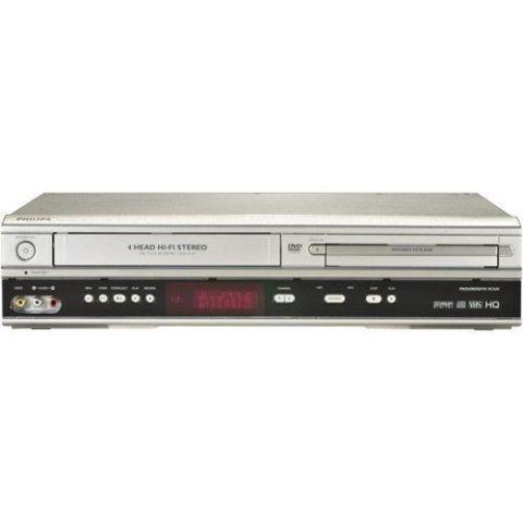 NEW-DVD/VCR/VHS COMBO PLAYER RECORDER-DIRECT