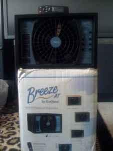new ecoquest breeze at air purifier black hiram for