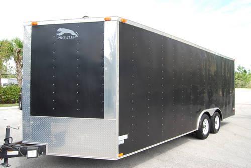 new enclosed car carrier auto transporter for sale in stuart florida classified. Black Bedroom Furniture Sets. Home Design Ideas