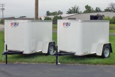 New Enclosed Cargo Trailers 4x6 For Sale In Livonia