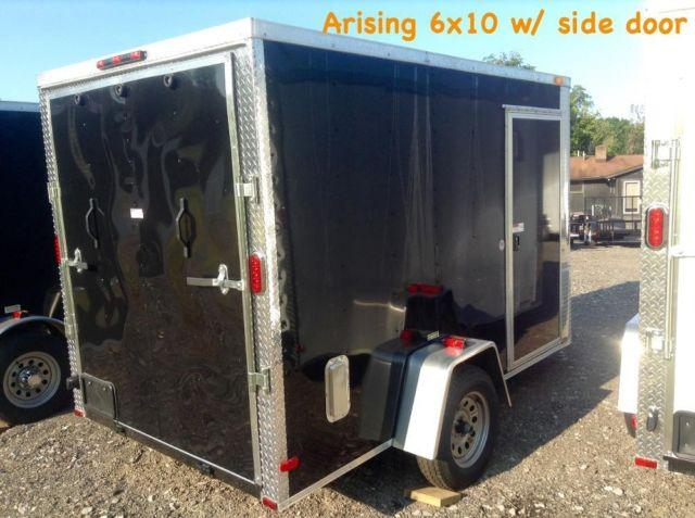 NEW ENCLOSED TRAILERS AS LOW AS $47/month