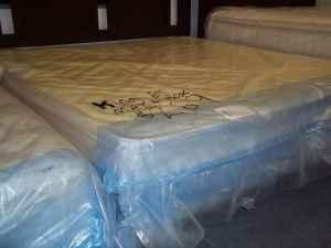 NEW EURO-TOP KING MATTRESS WITH BOXSPRINGS - $0 DOWN