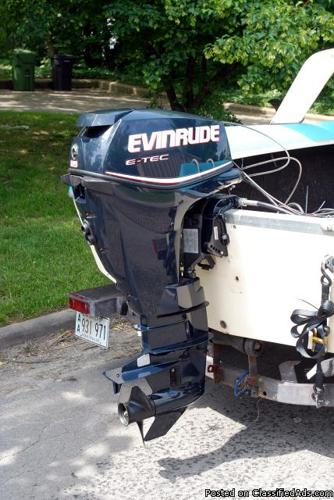 New evinrude 25hp two cycle for sale in rogers arkansas for Evinrude outboard jet motors for sale