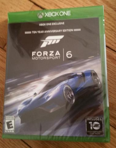 New Forza Motorsports 6 Ten Year Anniversary Edition
